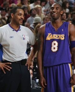 Kobe Bryant and Bennie Adams