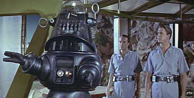 "Robby the Robot from ""Forbidden Planet"""