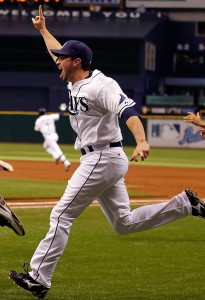 Tampa Bay Rays celebrate