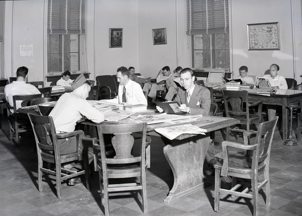 Cushing Library, Texas A&M, 1949
