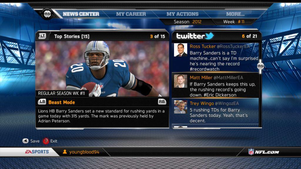 Madden NFL 13 screenshot