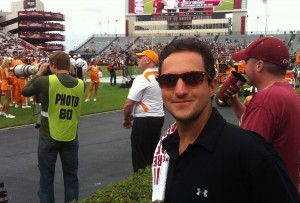 Max Tcheyan at Williams Brice Stadium