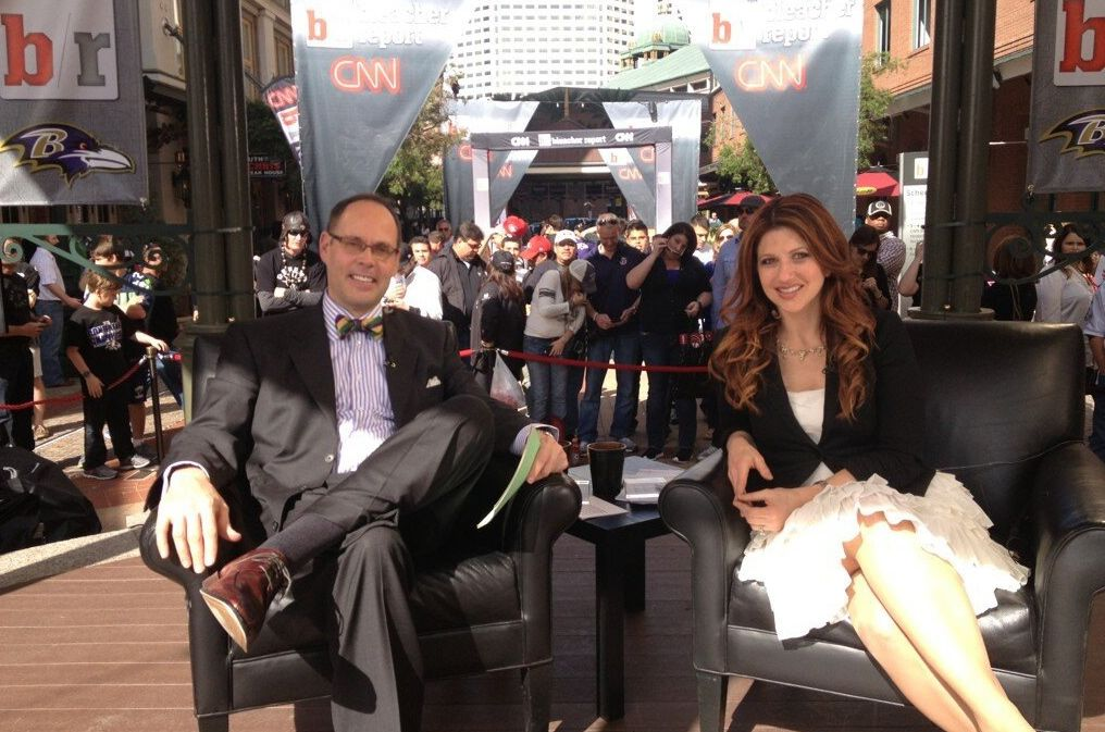 Ernie Johnson and Rachel Nichols