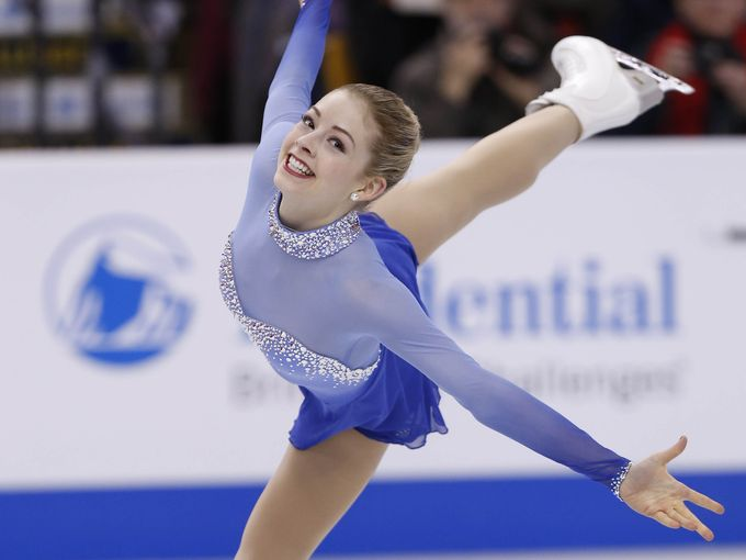 Gracie Gold smiled her way through our Olympics content.